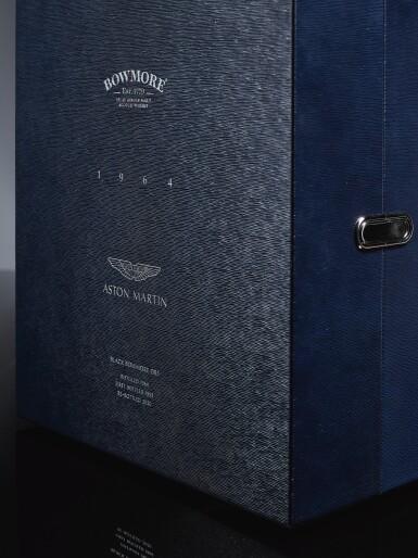 View 5. Thumbnail of Lot 1. Black Bowmore Aston Martin DB5 Whisky 49.6 abv 1964 (1 BT75).