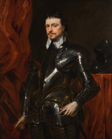 View 1. Thumbnail of Lot 35. Portrait of Thomas Wentworth, 1st Earl of Strafford (1593-1641) .