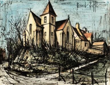 View 1. Thumbnail of Lot 244. Bray, l'église .