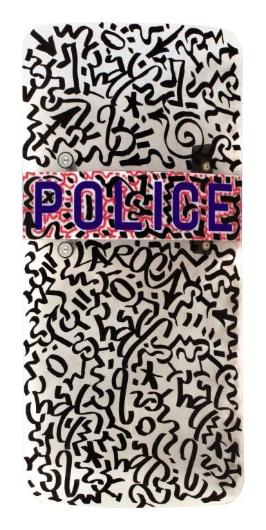 View 1. Thumbnail of Lot 11. LA2/LAROC   POLICE SHIELD. 2010.