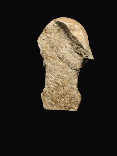View 4. Thumbnail of Lot 24. A ROMAN MARBLE HEAD OF HERMES, CIRCA 1ST CENTURY A.D..
