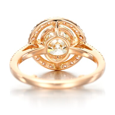 View 3. Thumbnail of Lot 53. Diamond ring.