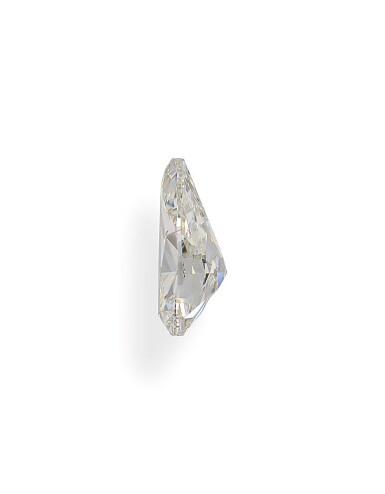 A 1.50 Carat Pear-Shaped Diamond, K Color, VS1 Clarity