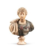 ITALIAN, PROBABLY ROME, 17TH CENTURY | BUST OF AN ANTONINE PRINCE