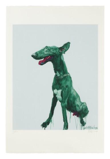 View 1. Thumbnail of Lot 48. ZHOU CHUNYA | GREEN DOG.