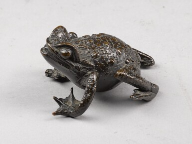 View 3. Thumbnail of Lot 33. NORTHERN ITALIAN, IN RENAISSANCE STYLE | INKWELL IN THE FORM OF A CRAB.