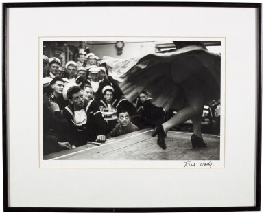 View 2. Thumbnail of Lot 141. BERT HARDY    GIBRALTAR, THE COMBINED FLEETS ASHORE, 1954.