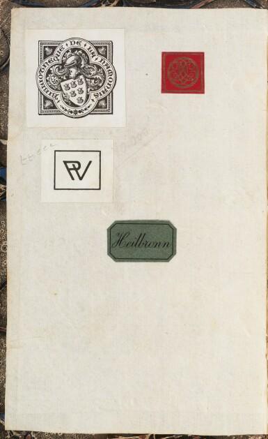 View 3. Thumbnail of Lot 176. Le Rouge et le noir. 2 vol. in-8 cartonnage de l'époque. Edition originale. Lettre de Stendhal jointe.