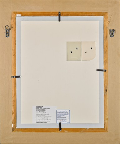 View 4. Thumbnail of Lot 21.  WILLI BAUMEISTER | GOYESCAS.