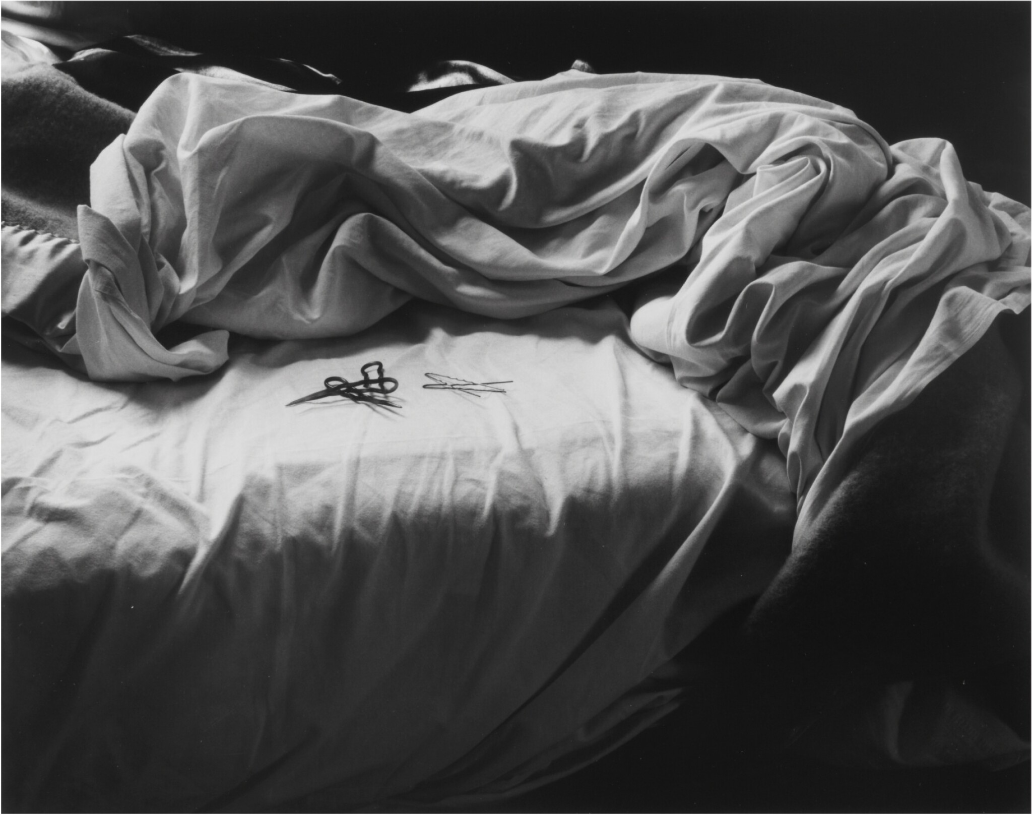 View full screen - View 1 of Lot 39. IMOGEN CUNNINGHAM | THE UNMADE BED.