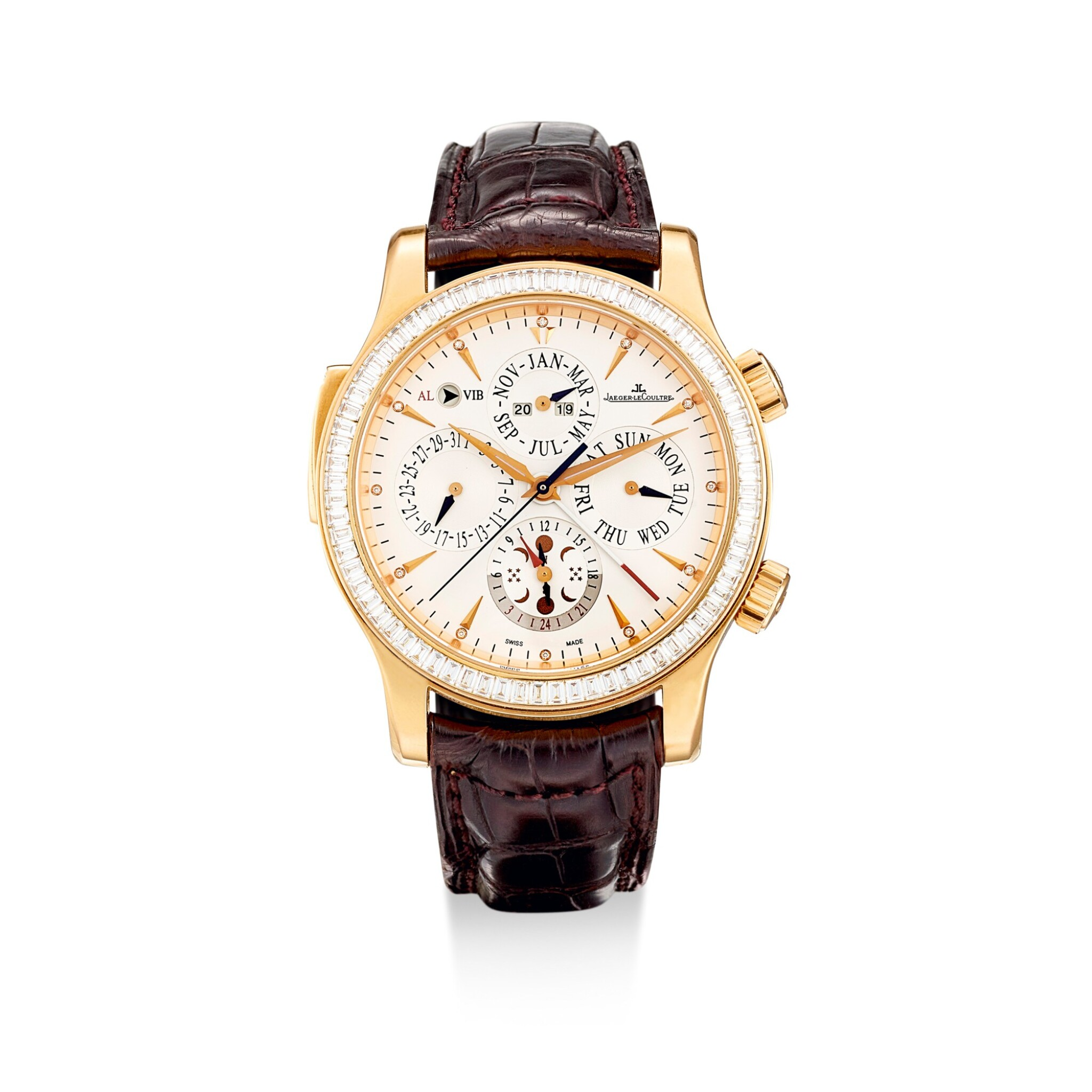 """View full screen - View 1 of Lot 2185. JAEGER-LECOULTRE 