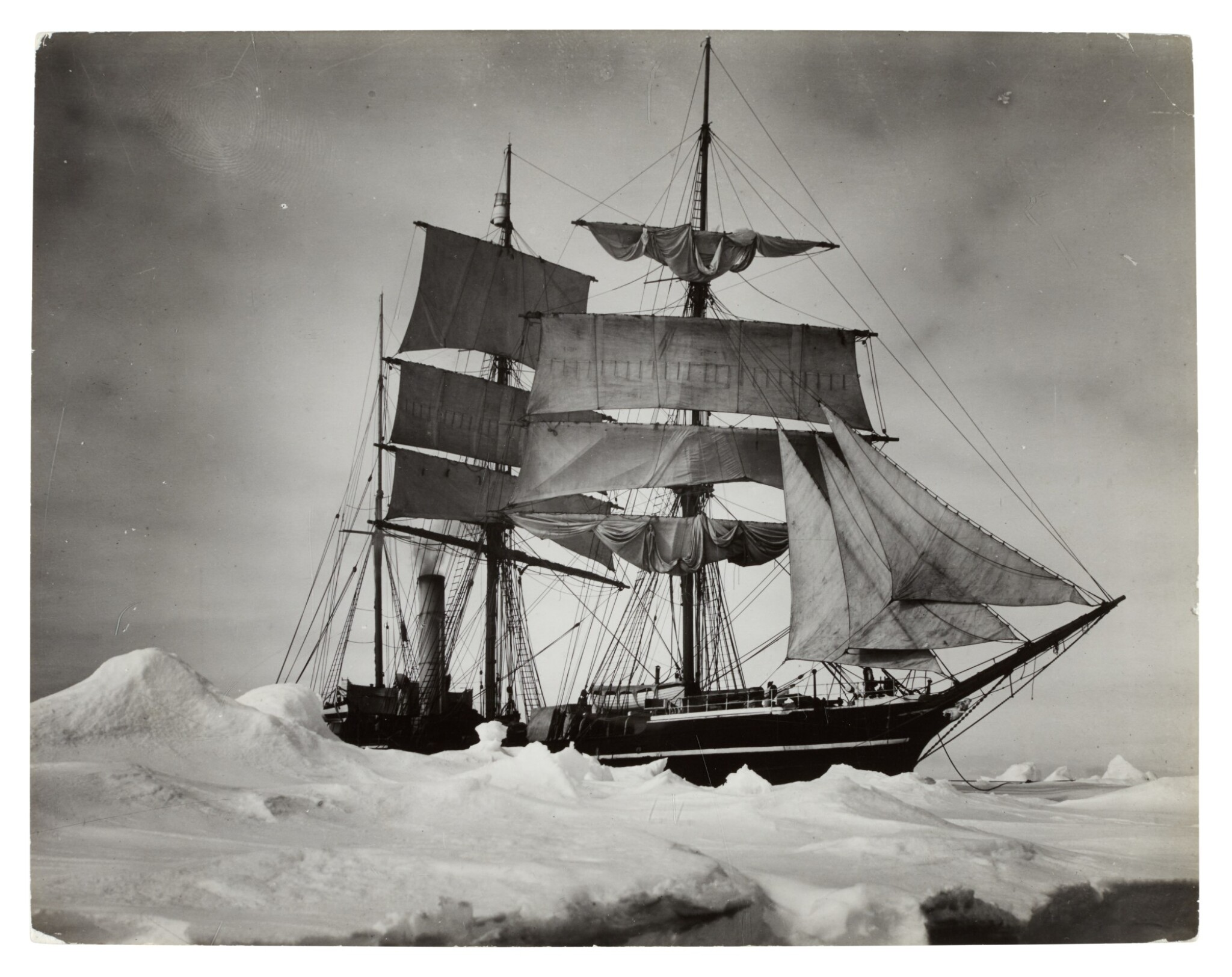"""View full screen - View 1 of Lot 185. Herbert Ponting and others 