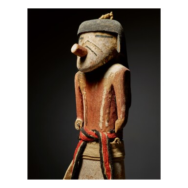 View 2. Thumbnail of Lot 228. HOPI KACHINA FIGURE, ARIZONA.