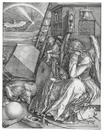 Melencolia I (B. 74; M., Holl. 75)