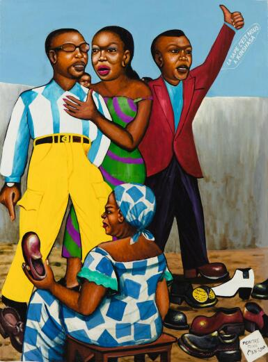MONSENGWO KEJWAMFI ''MOKE'' | LA SAPE, C'EST NOUS À KINSHASA