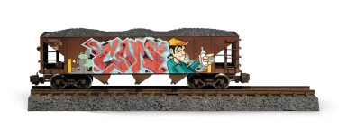View 13. Thumbnail of Lot 5. TIM CONLON | Five B-Boy G Scale Trains, 2020..