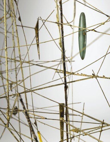View 3. Thumbnail of Lot 303. HARRY BERTOIA | UNTITLED (WIRE CONSTRUCTION).