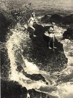 YOSHIYUKI IWASE | TWO WORKS, BOTH UNTITLED, C. 1950S
