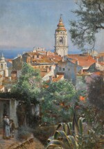 WILLIAM LOGSDAIL | Near Menton