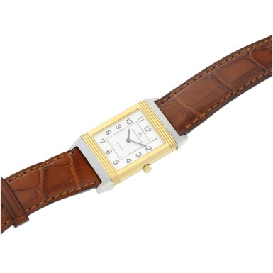 View 7. Thumbnail of Lot 244. REFERENCE 250.5.86 REVERSO CLASSIQUE A YELLOW GOLD AND STAINLESS STEEL REVERSIBLE WRISTWATCH, CIRCA 1995.