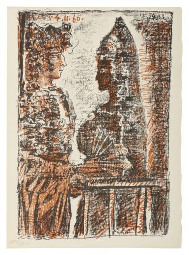 PABLO PICASSO | PROSPER MÉRIMÉE - LOUIS ARAGON. LE CARMEN DES CARMEN (B. 1000-1005; C. BKS 126)