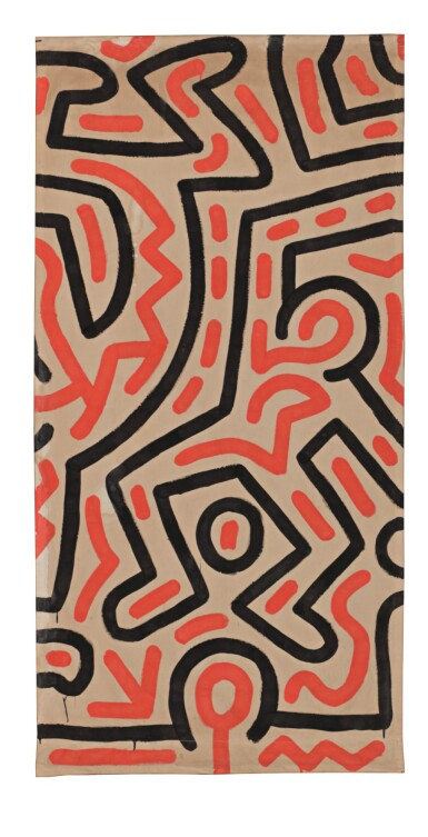 View 1. Thumbnail of Lot 56. KEITH HARING   UNTITLED.
