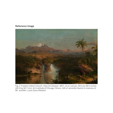 View 4. Thumbnail of Lot 36. FREDERIC EDWIN CHURCH | SOUTH AMERICAN LANDSCAPE.