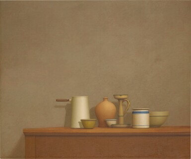 View 1. Thumbnail of Lot 108. Still Life with Seven Objects.