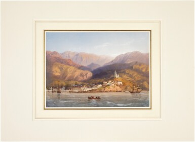 View 2. Thumbnail of Lot 86. A view of Yalta, Crimea.
