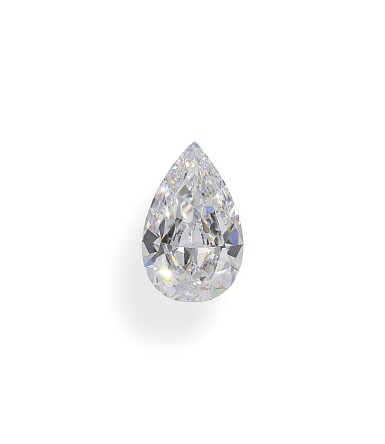 A 1.19 Carat Pear-Shaped Diamond, D Color, Internally Flawless