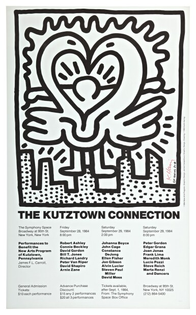KEITH HARING | THE KUTZTOWN CONNECTION (NOT IN LITTMANN)