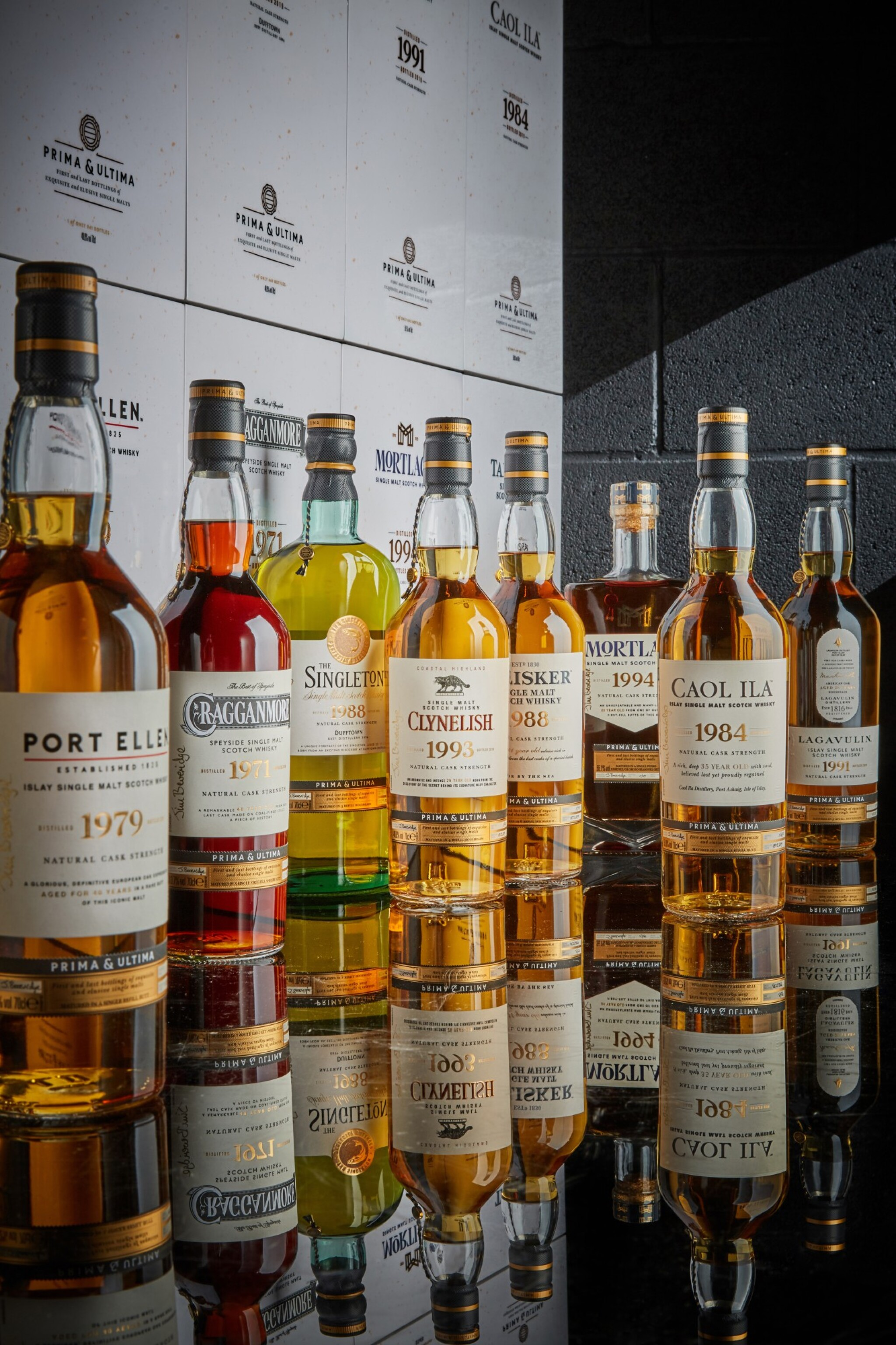 View 1 of Lot 1. The Prima & Ultima Collection, First Release, Set #1 + Exclusive Experience (8 bts 70cl, 8bt 2cl) **Price Excluding VAT**.