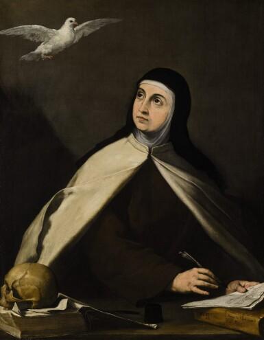 View 1. Thumbnail of Lot 17. Saint Teresa of Avila (1515–1582) |《亞維拉聖德蘭(1515-1582年)》.