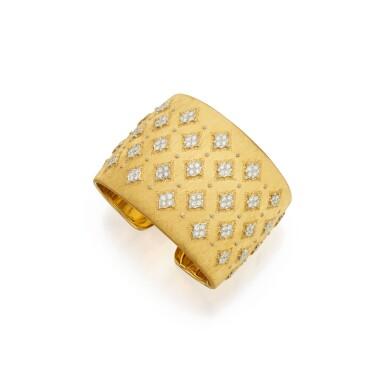 GOLD AND DIAMOND CUFF-BRACELET, BUCCELLATI