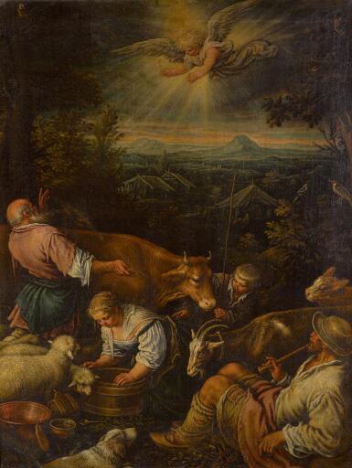 LEANDRO DA PONTE, CALLED LEANDRO BASSANO | Annunciation to the Shepherds