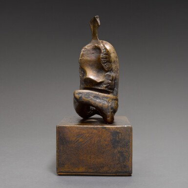 MAQUETTE FOR SEATED WOMAN: THIN NECK