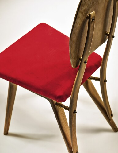 View 3. Thumbnail of Lot 287. CARLO MOLLINO   AN IMPORTANT CHAIR.
