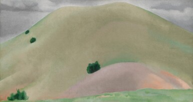 View 1. Thumbnail of Lot 10. GEORGIA O'KEEFFE | NEW MEXICO LANDSCAPE AND SAND HILLS.