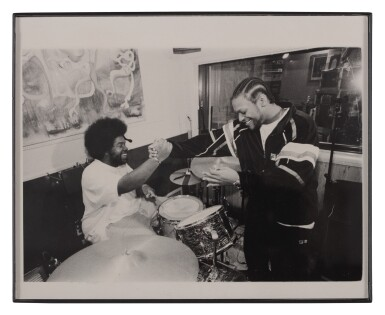 """View 3. Thumbnail of Lot 84. [QUESTLOVE] 60'S ERA 5-PIECE DRUM KIT AS USED LIVE AND IN STUDIO BY AHMIR """"QUESTLOVE"""" THOMPSON."""
