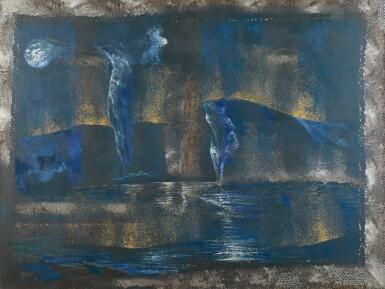 View 1. Thumbnail of Lot 101. WISDOM KUDOWOR  |  BLUE SCAPE.