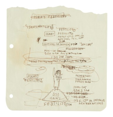 JEAN-MICHEL BASQUIAT | ISAIA'S FERTILITY