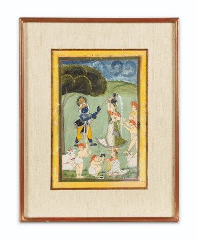 View 4. Thumbnail of Lot 69. RAJASTHAN, LATE 18TH CENTURY AND 19TH CENTURY | SEVEN INDIAN MINIATURES.