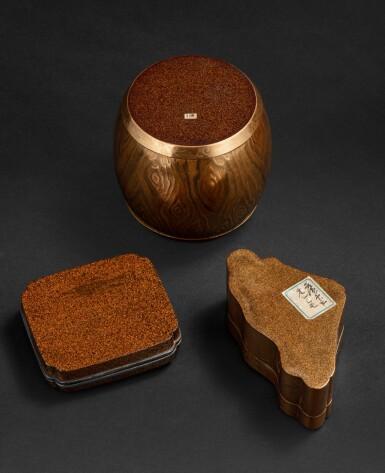 View 7. Thumbnail of Lot 252. Groupe de sept objets en laque Japon, époque Edo - époque Meiji | 日本 江戶至明治時期 漆器一組七件 | A group of seven lacquerwares, Japan, Edo - Meiji period.