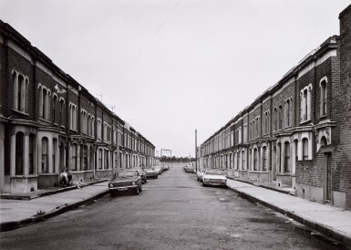View 2. Thumbnail of Lot 36. 'Clinton Road', Murdock Cottages, London, 1977; 'Panorama 2', Beaugrenelle, Paris, 1979; 'Gereonswall', Koln, 1980; 'Calle Tintoretto', Venezia, 1990.