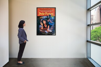 View 2. Thumbnail of Lot 178. Photography by Firooz Zahedi, USA, 1994 | Pulp Fiction Poster.