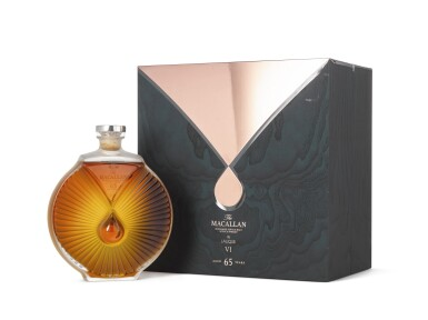 View 2. Thumbnail of Lot 2007. The Macallan In Lalique - Peerless Spirit Decanter, 65 Years Old.