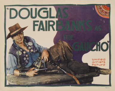 THE GAUCHO (1927) TITLE CARD, US