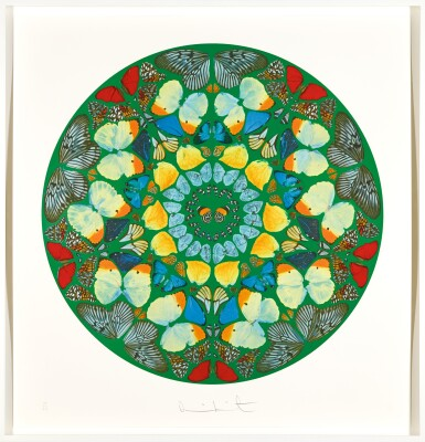 View 1. Thumbnail of Lot 26. DAMIEN HIRST | PSALM PRINT: USQUE QUO, DOMINE?.