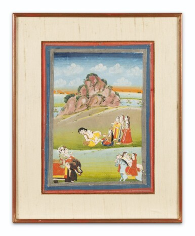 View 4. Thumbnail of Lot 36. INDIA, RAJASTHAN, PAHARI, LATE 18TH CENTURY AND 19TH CENTURY | FIVE INDIAN MINIATURES .