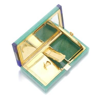 View 5. Thumbnail of Lot 35. VAN CLEEF & ARPELS | GEM SET AND DIAMOND VANITY CASE, 1920S.